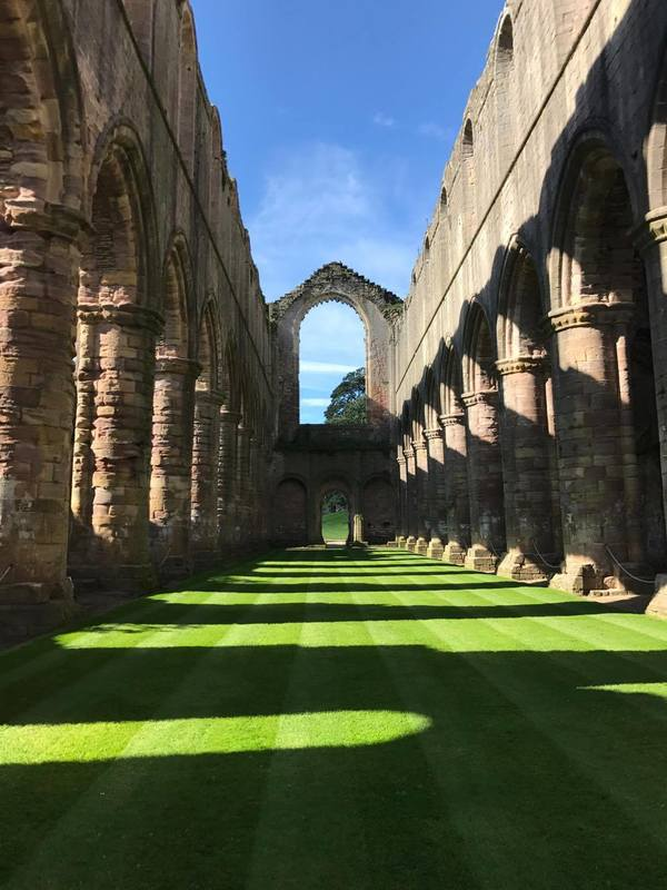 "A view from inside the ruins at Fountains Abbey!<a href=""/reason/images/780136_orig.jpg"" title=""High res"">∝</a>"