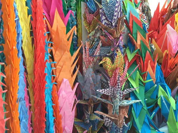 "Paper cranes at the Hiroshima Peace Park<a href=""/reason/images/672139_orig.jpg"" title=""High res"">∝</a>"