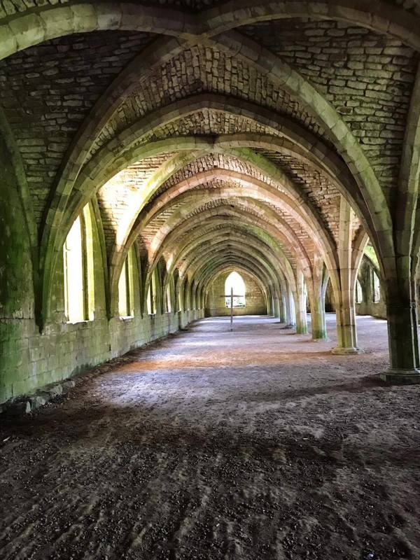 "There are 300 feet of cellarium at Fountains Abbey. They are mostly used for storage.<a href=""/reason/images/780140_orig.jpg"" title=""High res"">∝</a>"