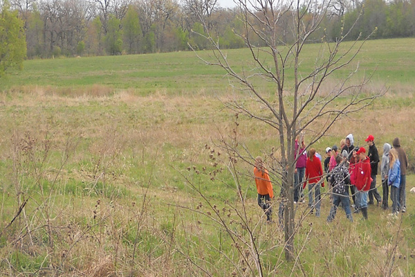 Students conduct field work for MTP.