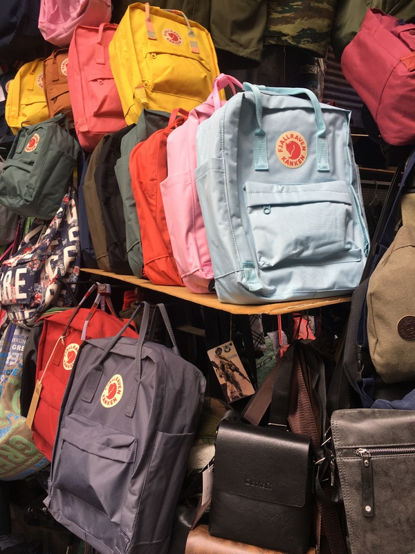 Our Fjällräven Kånken backpacks