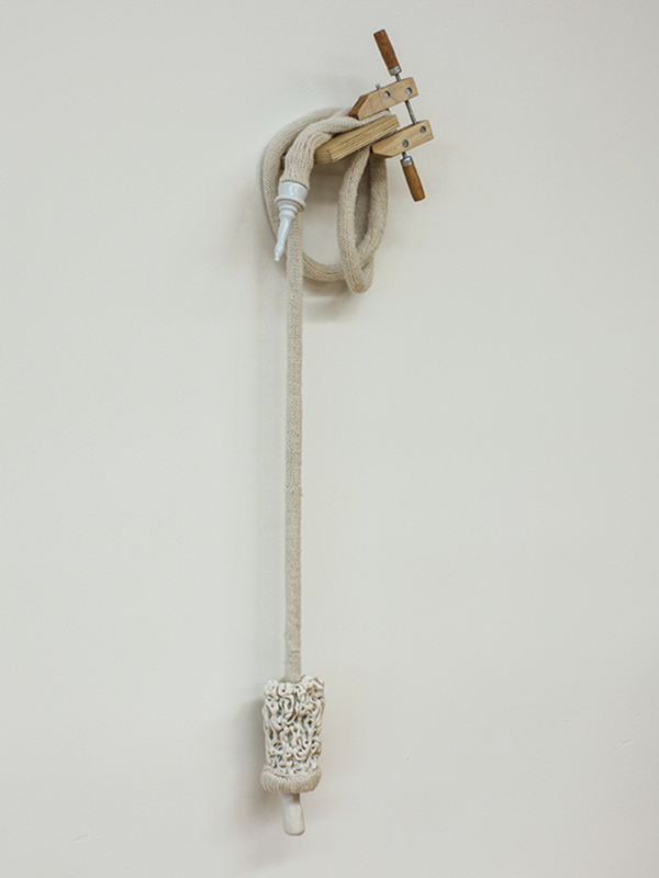 Soft Machine – sculpture, 36 x 10 x 8 in., 2012
