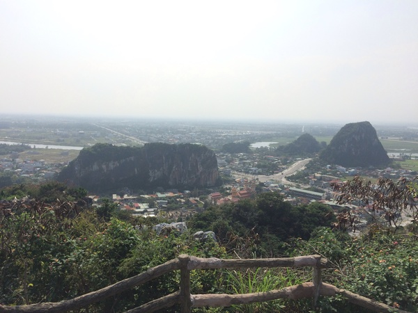 "A view from the highest peak of Marble Mountain in Da Nang.<a href=""/reason/images/670167_orig.jpg"" title=""High res"">∝</a>"