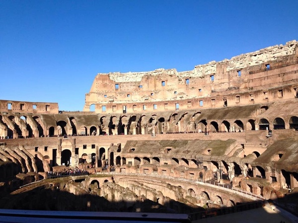 "The ancient Roman Colosseum!<a href=""/reason/images/603182_orig.jpg"" title=""High res"">∝</a>"