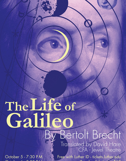 The Life of Galileo Poster