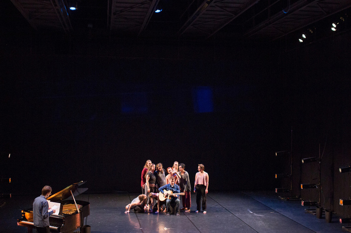 "Luther students dance in ""Trust Me."""