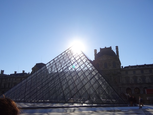 "The ever popular pyramids outside of the Louvre museum<a href=""/reason/images/673194_orig.jpg"" title=""High res"">∝</a>"