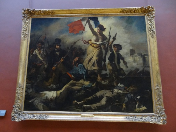 "The Louvre ft. Coldplay's Viva la Vida album cover. Because I just learned today that it is a real painting.<a href=""/reason/images/673196_orig.jpg"" title=""High res"">∝</a>"