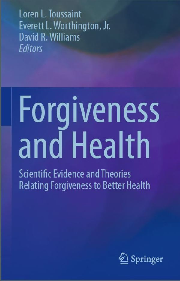 Forgiveness and Health Book