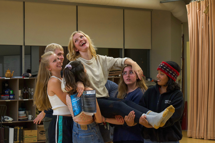 "Luther students rehearse for the upcoming production of ""A Midsummer Night's Dream"""