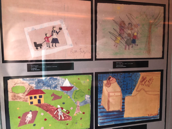 "Children's drawings of 'memories from home' from Terezin.<a href=""/reason/images/799208_orig.png"" title=""High res"">∝</a>"