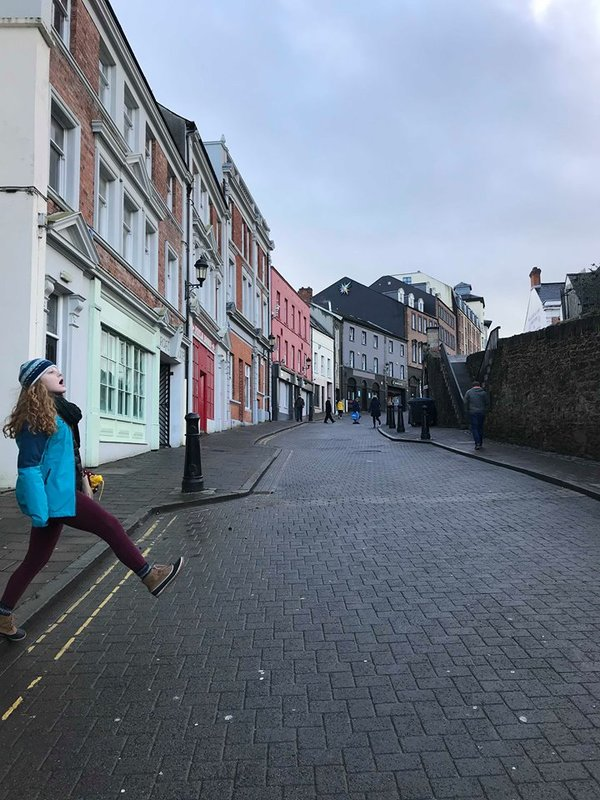 "Bounding into this walking tour, Anna channels the Beatles<a href=""/reason/images/798213_orig.jpg"" title=""High res"">∝</a>"
