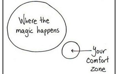 Where the Magic Happens, Your Comfort Zone