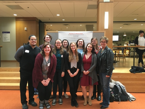 "Prof. Ron Ferguson, Sadie Baker, Noah Manternach, Anna Lavender, Brenna Johnson, Jess Myers, Caitlyn Hayden, Kate Larson, Courtney Field, Prof. Char Kunkel<a href=""/reason/images/834235_orig.jpg"" title=""High res"">∝</a>"