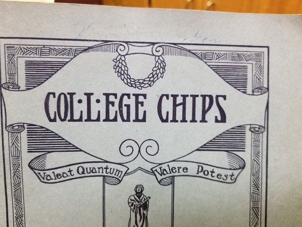 "Luther College Chips, Oct. 1, 1924<a href=""/reason/images/837239_orig.jpg"" title=""High res"">&prop;</a>"