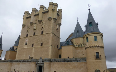 The castle of Segovia.