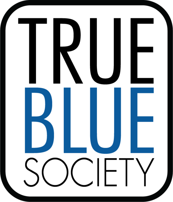 When you pledge to give back in your Senior Giving Campaign, you join the True Blue Society.