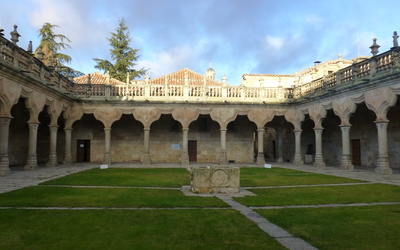The patio of the Escuelas Menores.