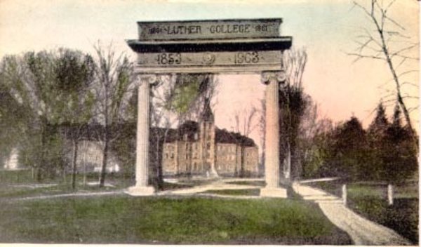Luther College Arch