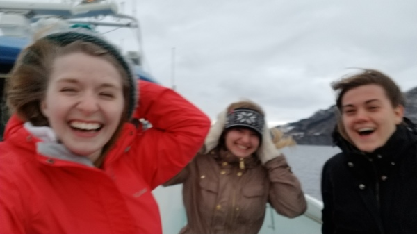 "It was a little windy on the Fjord tour. But none of us lost our hats!<a href=""/reason/images/795251_orig.jpg"" title=""High res"">∝</a>"