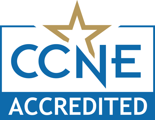 CCNE Accredition Seal