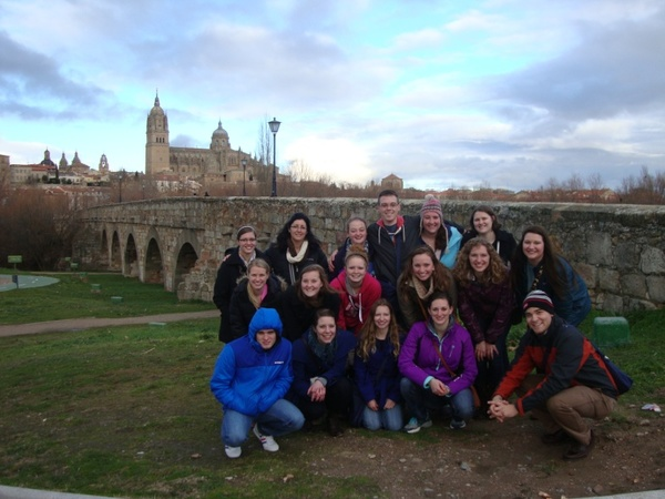 "Our group at El Puente Romano with a couple of other students from the United States.<a href=""/reason/images/523256_orig.jpg"" title=""High res"">&prop;</a>"