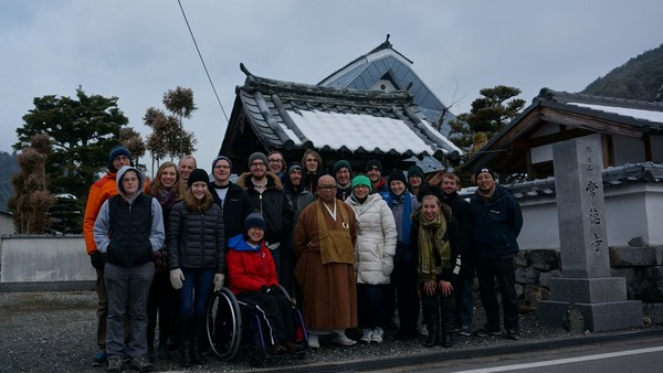 "The class with the Zen Master at our first monastery.<a href=""/reason/images/601257_orig.jpg"" title=""High res"">∝</a>"