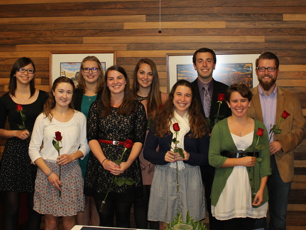 Phi Alpha Theta Induction 2014-2015
