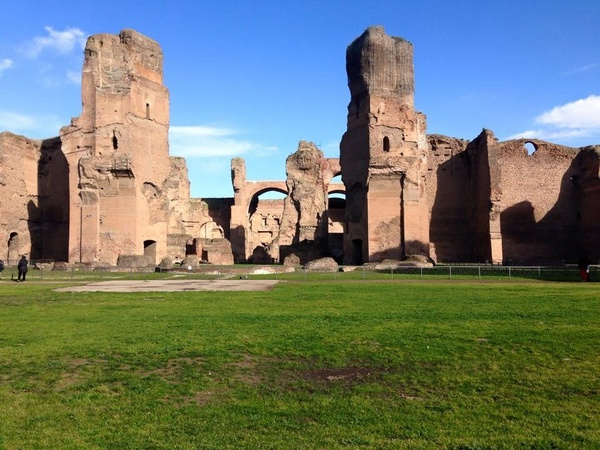 "All that is left of the Baths of Caracalla, one of Percy Shelley's favorite writing spots.<a href=""/reason/images/603274_orig.jpg"" title=""High res"">∝</a>"