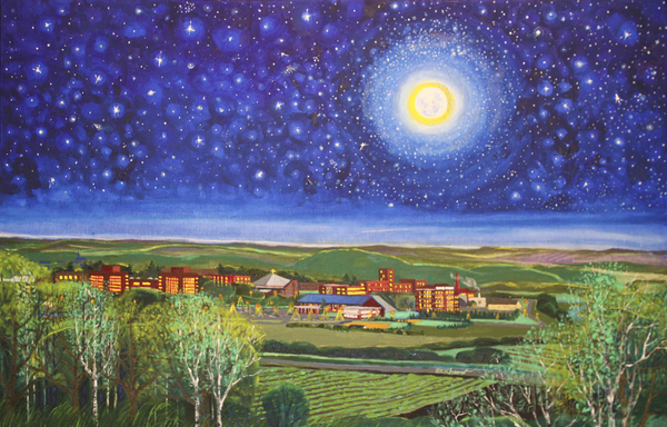 Campus Scenes by Douglas Eckheart September 29 - October 21, 2011