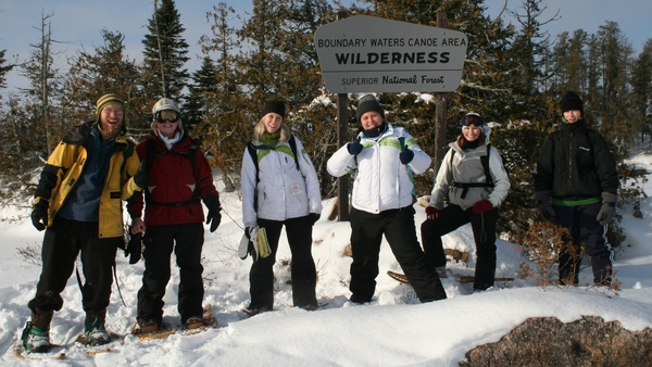 "The ""Winter Biology"" J-term course heads north to Boundary Waters to study the ecology of plants and animals in winter."