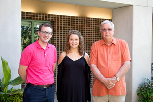 Student/Faculty Research: Professor Ryan Torkelson, Bethany Noltner, and Professor Don Jones.