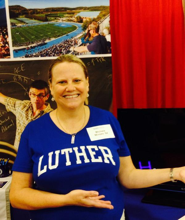 Use the #lutherfair for a chance to win a Book Shop gift certificate.
