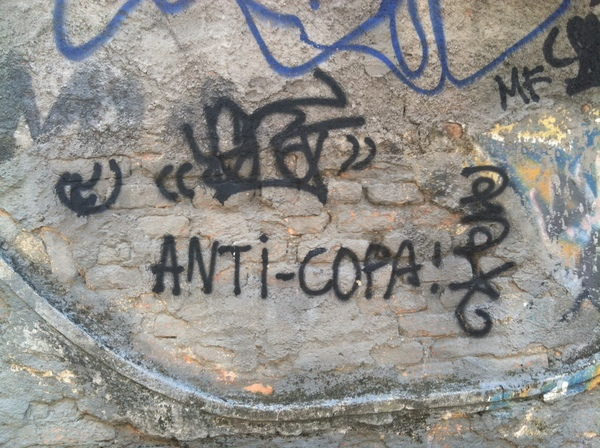 "One of many Anti World Cup Writings around Rio<a href=""/reason/images/524318_orig.jpg"" title=""High res"">&prop;</a>"