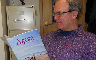 As its newest editor, Martin Klammer reads the 27th volume of Agora: The Liberal Arts at Luther College.