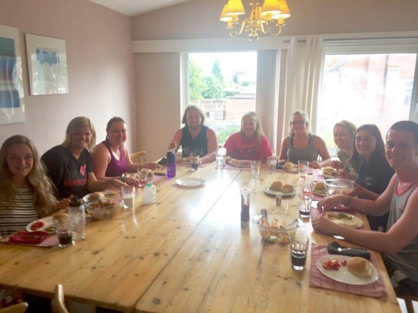 "Norse nurses enjoying their first meal together in the flat<a href=""/reason/images/767355_orig.jpg"" title=""High res"">∝</a>"