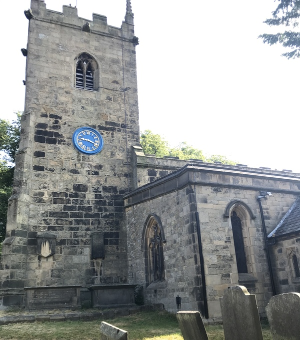 "Front view of Eyam Church where victims of the Plague are laid to rest.<a href=""/reason/images/824356_orig.jpg"" title=""High res"">∝</a>"