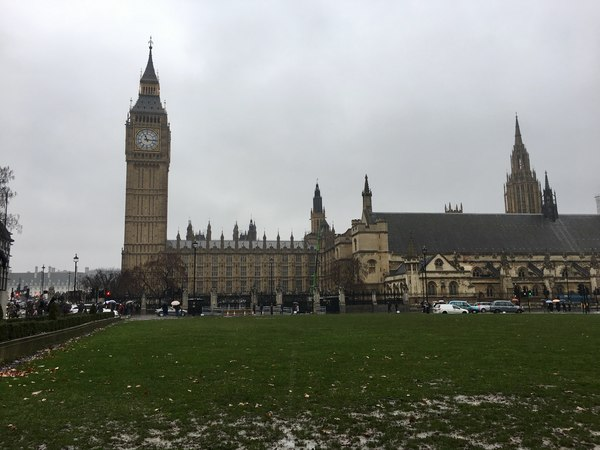 "A shot of Big Ben and the Palace of Westminster during our morning walk around London.<a href=""/reason/images/740365_orig.jpg"" title=""High res"">∝</a>"