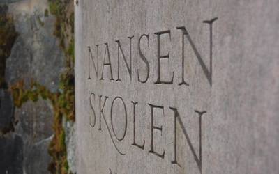 The sign at the entrance of Nansen.
