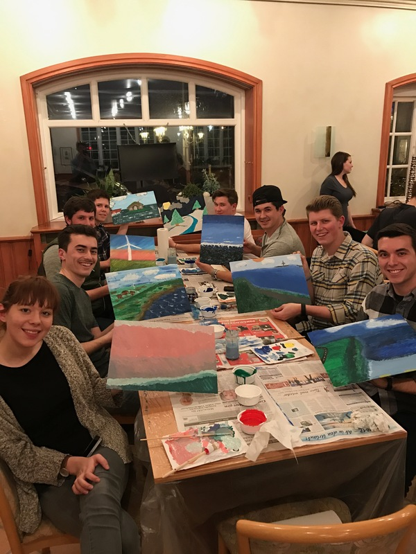 "The rest of the group and our art.<a href=""/reason/images/740386_orig.jpg"" title=""High res"">∝</a>"