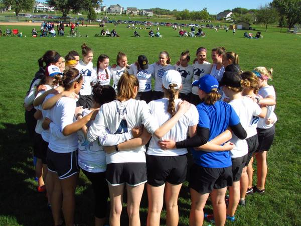 Schedule Women S Ultimate Frisbee Luther College