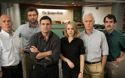 Cast of Spotlight.