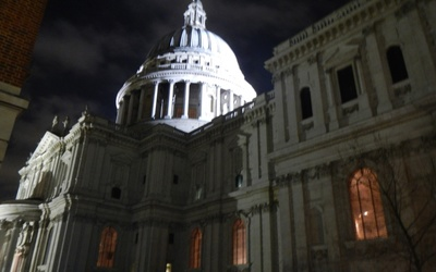 Here is St. Paul's cathedral