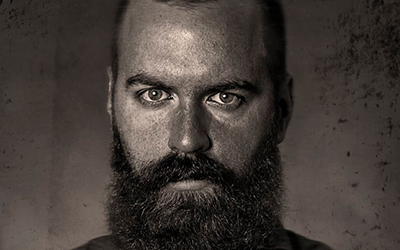 Aaron Lurth's wet plate collodion protrait.