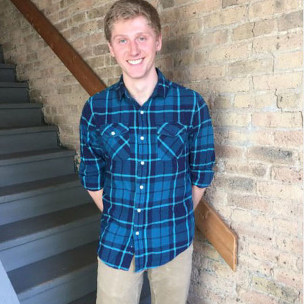 Tyler Broadwell interns at Chicago House.