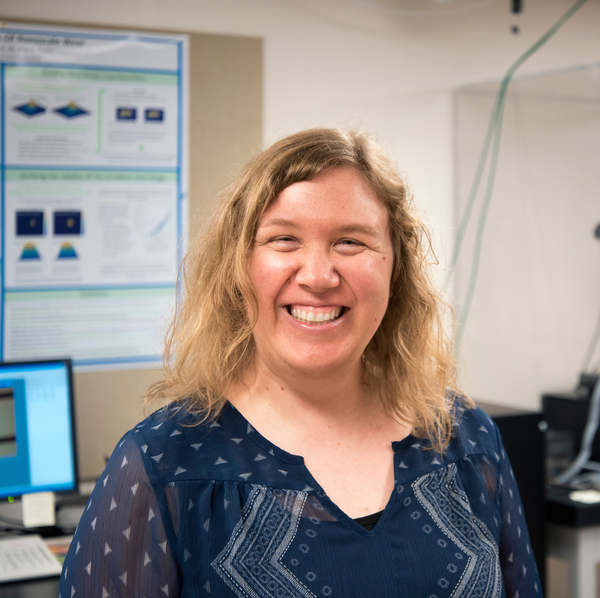 Erin Flater, Associate Professor of Physics at Luther College.