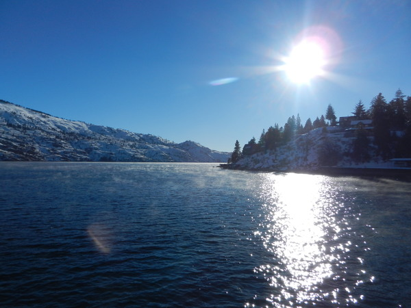 "A view of Lake Chelan from a stop during the ferry ride to Holden Village.<a href=""/reason/images/739427_orig.jpg"" title=""High res"">∝</a>"