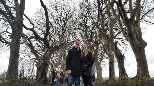 "The Dark Hedges! Where they filmed part of Game of Thrones<a href=""/reason/images/809428_orig.jpg"" title=""High res"">∝</a>"