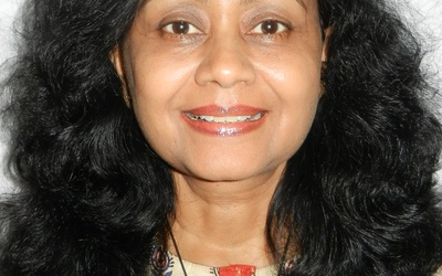 Neela B. Saxena, professor of English and women's studies at Nassau Community College