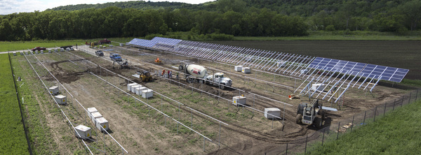 "The solar field at Luther College will be dedicated on Oct. 27<a href=""/reason/images/415434_orig.jpg"" title=""High res"">∝</a>"